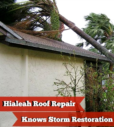 Storm Roof Restoration Miami
